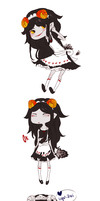 all the maid aradia's. by poisonparfait