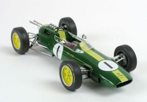 Lotus Racing Car Model by runrig