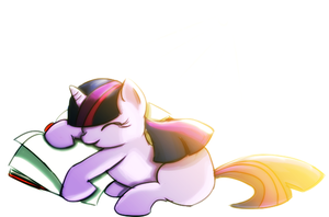Twilight and Book by TheRebelPhoenix