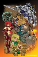 Battle Chasers by PIXEL-Of-DOOM