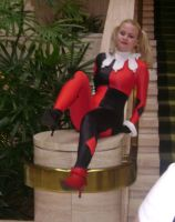 Alisachan as Harley Quinn pt1 by Cliffather