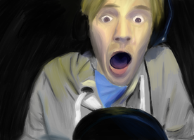 PEWDIEPIE reaction WIP by THEBIONICBOI
