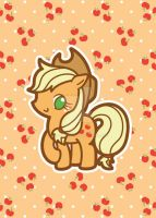 Applejack Postcard by MasumiChi