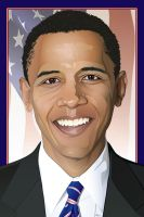 Obama by rjonesdesign