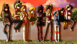 Girls Just Wanna Have Fun by Ultra-Adeline