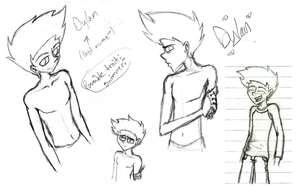 DYLAN!!! (More Sketches!) by isora683