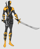 Deathstroke 2 by kingofblaze