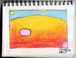 volcanic planet by hollow-welt