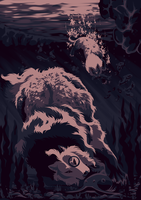 Monster in the Deep by sealle