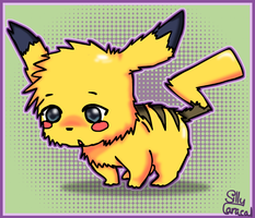 Pikachu :D by SillyCaracal