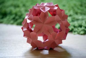 Sakura Kusudama by happy96