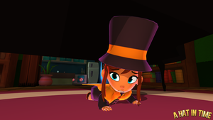Hat Kid Hiding by Habboi