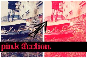 Pink Action by AnotherLiife