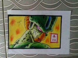 CEll  FORMA IMCOMPLETA-DBZ by powre
