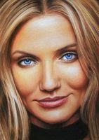 Cameron Diaz by LMan-Artwork