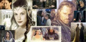 Arwen and Aragorn by here4theparty