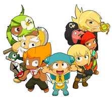 Mini-Wakfu by yamiyonofen