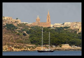 Mgarr City On Gozo Island by skarzynscy