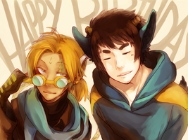 Happy Birthday Massy by mowtei