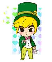 Toon Link - New 3DS by ThePrettyArtist