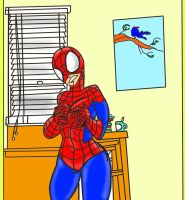 How Do I Hide This From Aunt May? Cl by Kimbawest