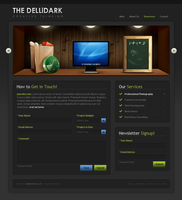 DelliDark Contact by dellustrations