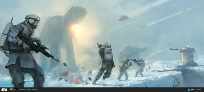 Battle on Hoth by Chris-Karbach