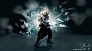Assassins Creed 3 Wallpaper Dark vers. by ersel54