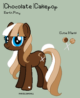 MLP - Chocolate Cakepop Reference Sheet by porcelian-doll