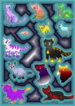 Moar Epic Cat Adoptables by EspeonUmbreonLover