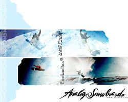 analog snow advert 2 by sedateinfect