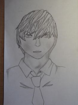 Light Yagami  my art by Andalak