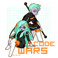 Code Wars chibis by Apomix