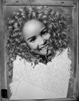 Just Smile WIP by AngelasPortraits