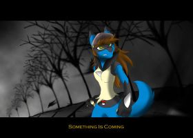 Something is Comin by KasaraWolf