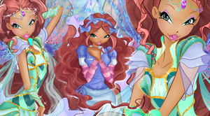 Bloomix Fairy Aisha Wallpaper by Wizplace