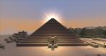 Pyramid sunset by TRADT-PRODUCTION