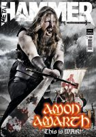 Metal Hammer Amon Amarth by JamesHammer