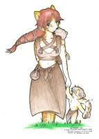 Alluna - The Mother and kits by Koushoku-jin