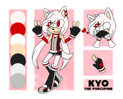 Kyo the Porcupine // Reference by polterqeists