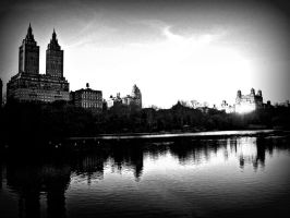 Central Park Reflections by kaleidoscopeeyes06