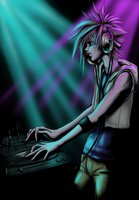 DJ Cloud by megZmoo