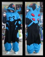 Blue Beetle Kigurumi by SailorAnime