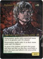 Magic Card Alteration: Tyrion Gaddock Teeg 3/16/14 by Ondal-the-Fool