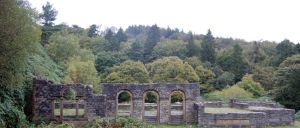 ruins of errwood hall by Duckmad