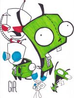 unfinished gir by Twisted462