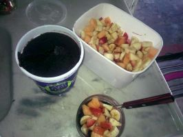 Fruit Salad with acai  from Brazil by RodolfoMaia