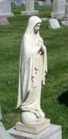 Mount Olivet Cemetery Mary 37 by Falln-Stock