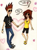 TomSka and JennyBee by TheSSSteam