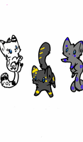 10 POINT KITTY ADOPTS :OPEN: by El3ctro-Mess
